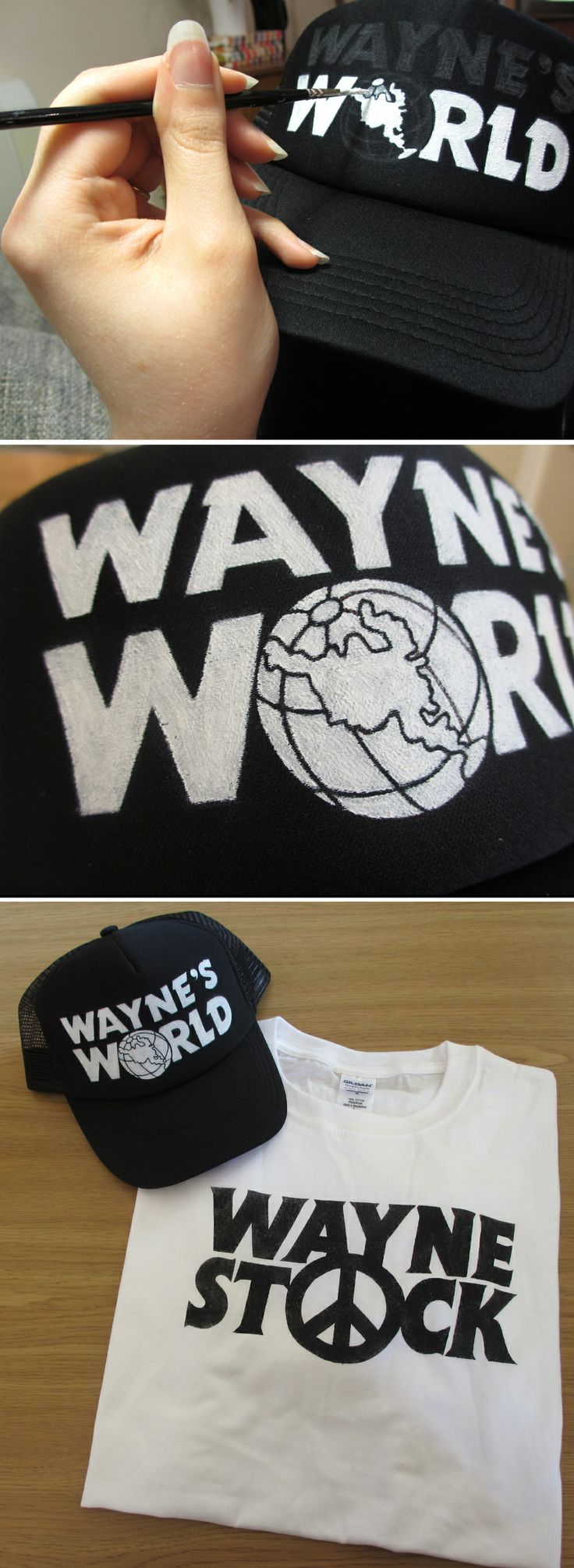 Wayne's World Cap #DIY #costume #fancydress