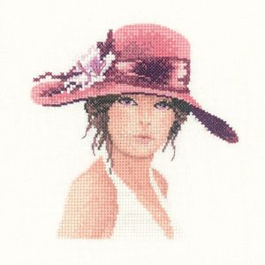 Sally - John Clayton Miniature Elegance cross stitch kit