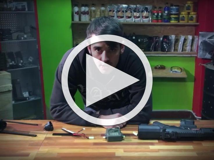 Erklärung der Ares Programmierbox für Akkus von EFCS & GCS Airsoft Waffen - shoot-club