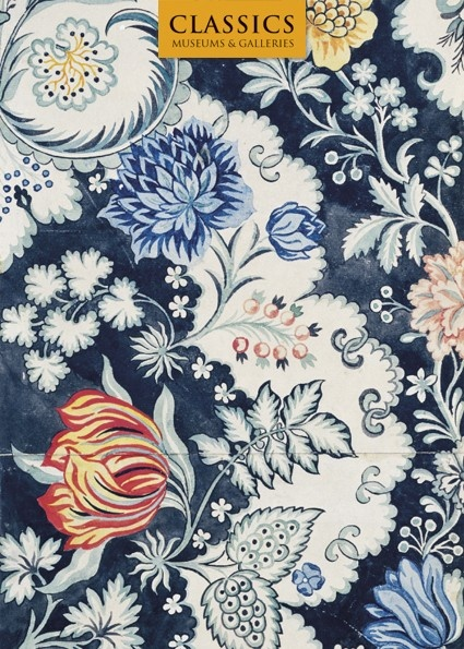 Fabric Design by Anna Maria Garthwaite, from the Classics range by Museums & Galleries