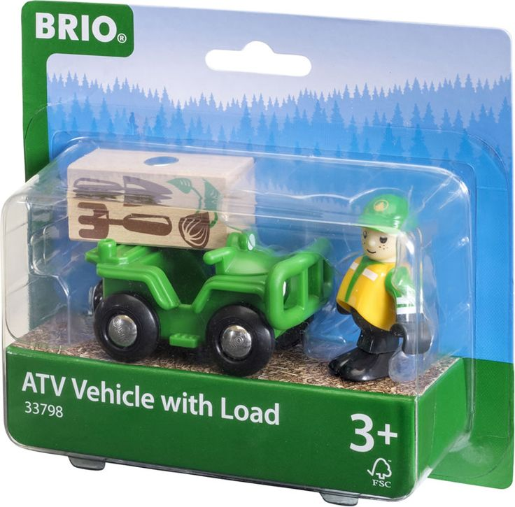 ATV with Load  brio 33798