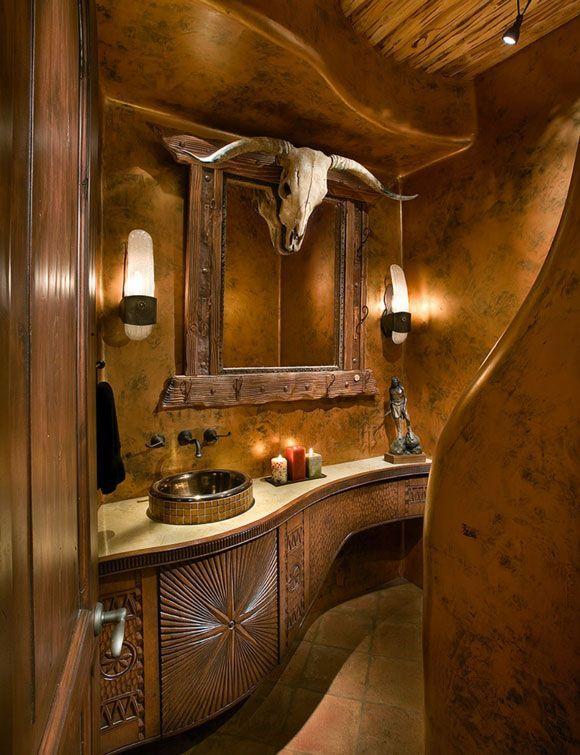 Rustic Bathroom Sinks Western Bathroom Decor Western Bathrooms Rustic Bathroom Sinks