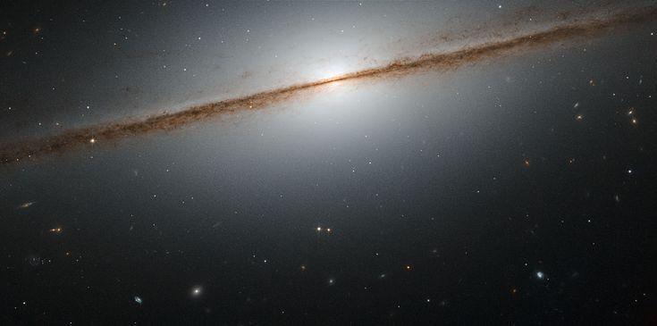 Hubble's Little Sombrero