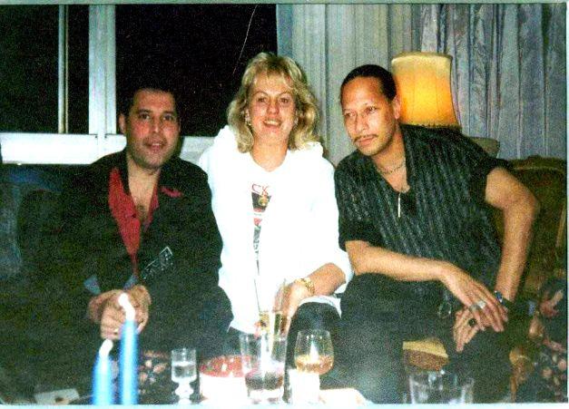 New Year - 1988, Freddie, Barbara Valentin, Peter Straker