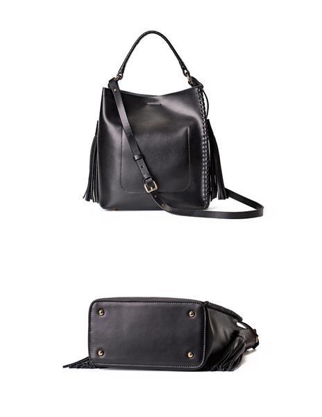 Leather Women Shoulder Bag, Cross body Bag, Tote bag WF02 - ArtofLeather