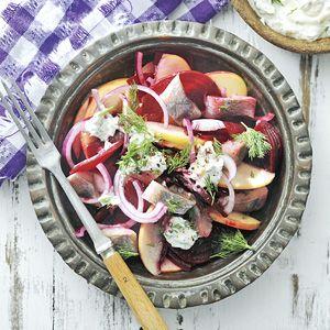 Recept - Bietensalade met haring - Allerhande