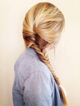 A side braid is an easy and stylish look for any girl that's on the go!