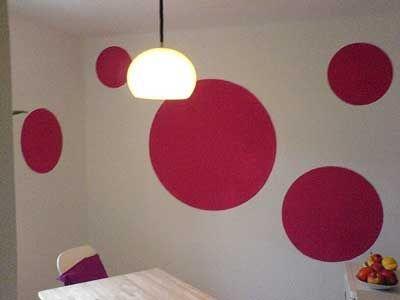 pared-pintada-de-circulos