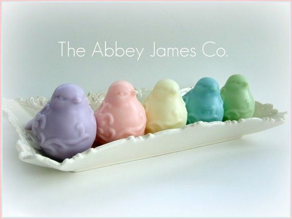 Pastel Bird Soaps - my favorite soap shop