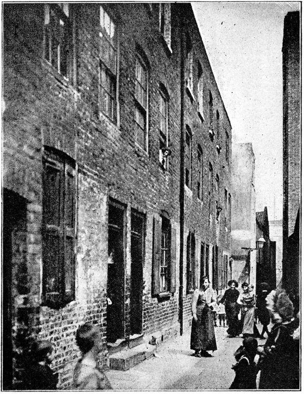 Frying Pan Alley circa 1908