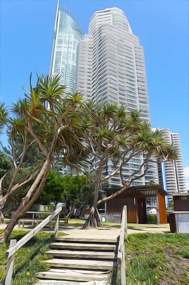 Another Surfers Paradise high-rise which buildings are these two?