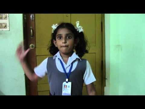 hindi poem recitation by Nandana Vinod Nair - YouTube