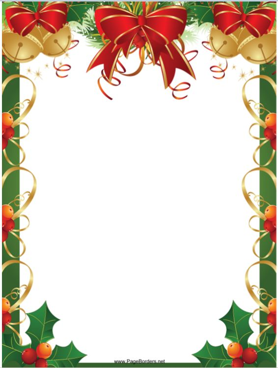 Pin by Crafty Annabelle on Christmas Printables 5 Christmas border