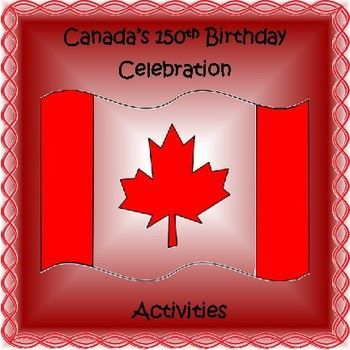 """Did you know that this year Canada is celebrating the 150th anniversary of the Canadian Confederation (July 1, 1867) ?Join in with the birthday celebrations with your students!Included in this resource is:-a list of the official symbols of Canada-a mini-project of the official symbols of Canada-""""Canada"""" acrostic template-a Canada word make sheet-creative activities, such as creating a logo, commemorative coin, and new Canadian flag-all things Canadian word search (answer sheet…"""