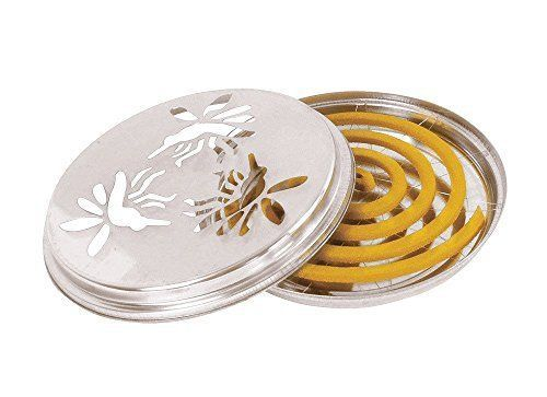 Citronella Mosquito Coils - pack of 10 with Stand