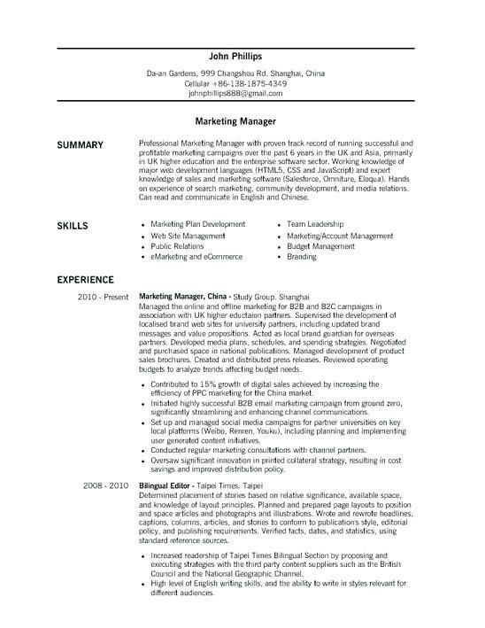 For Kitchen Manager 3-Resume Templates Manager resume, Sample