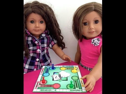 ▶ How to make Board Games for your American Girl Doll - YouTube