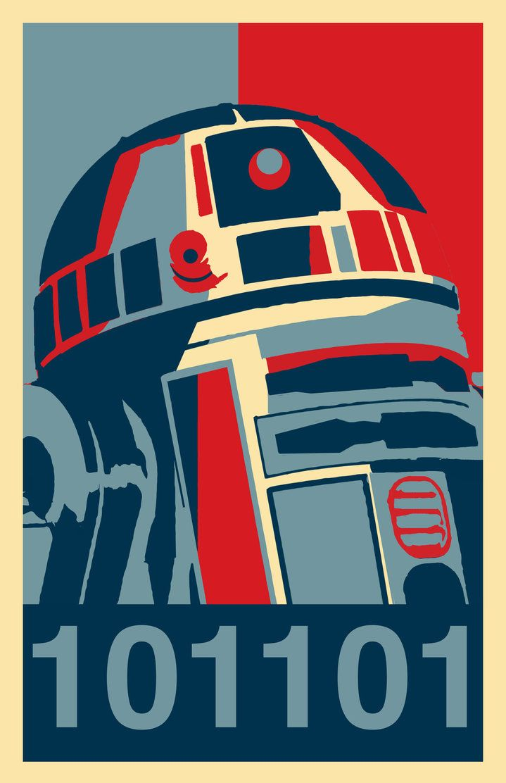 R2-D2 - Star Wars - j2Artist.deviantart.com