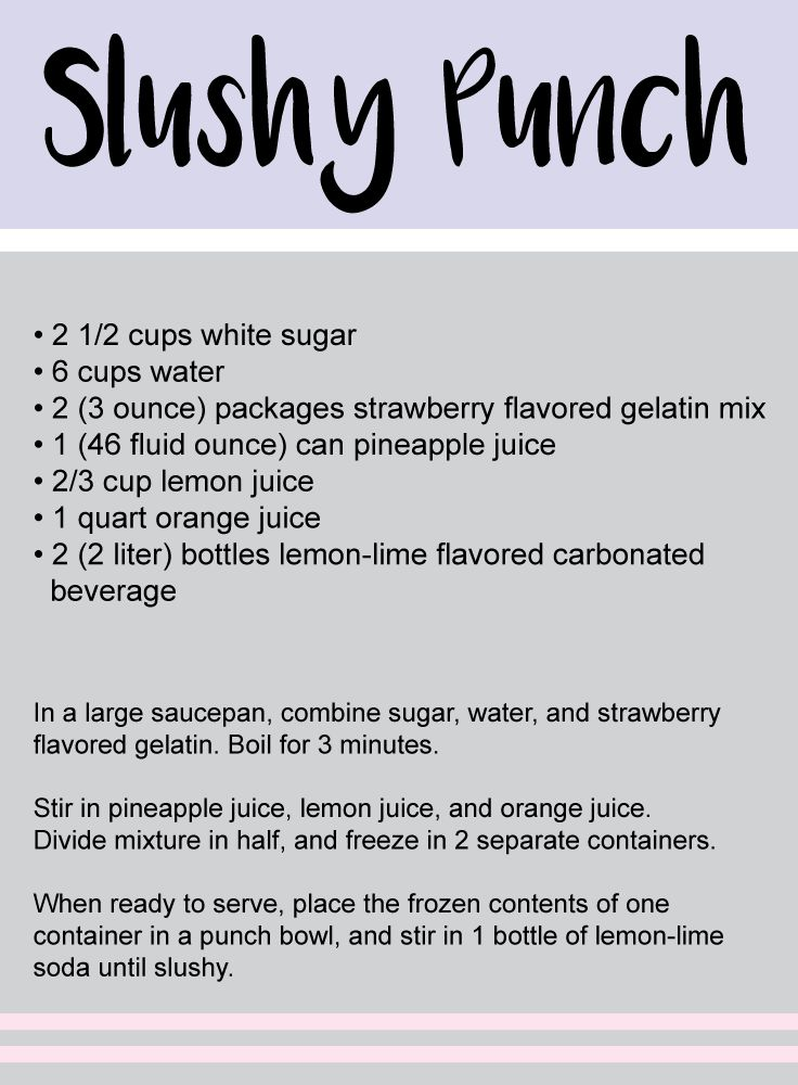 Wonderful The Best Baby Shower Punch Recipes
