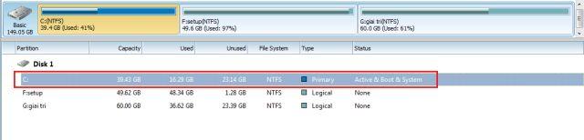 Chia dung lượng ổ cứng không mất dữ liệu - ảnh 8