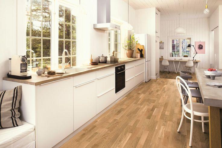 Dream kitchen for dream meals. BOEN Parkett