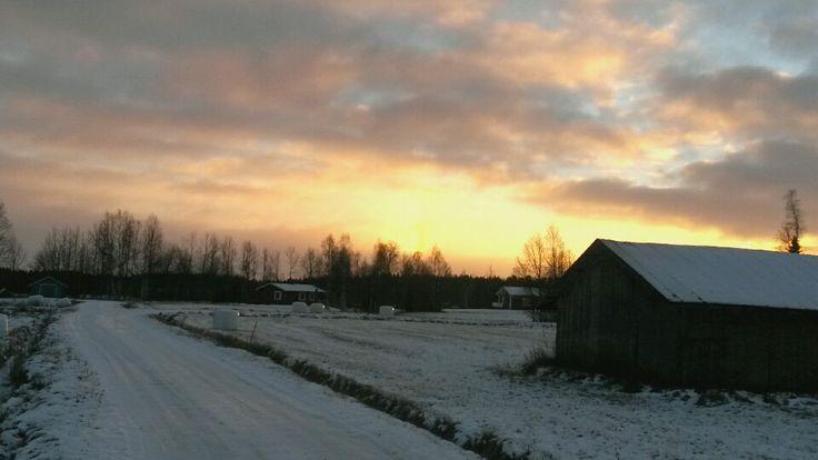 #sunset #tornio #finnishlapland
