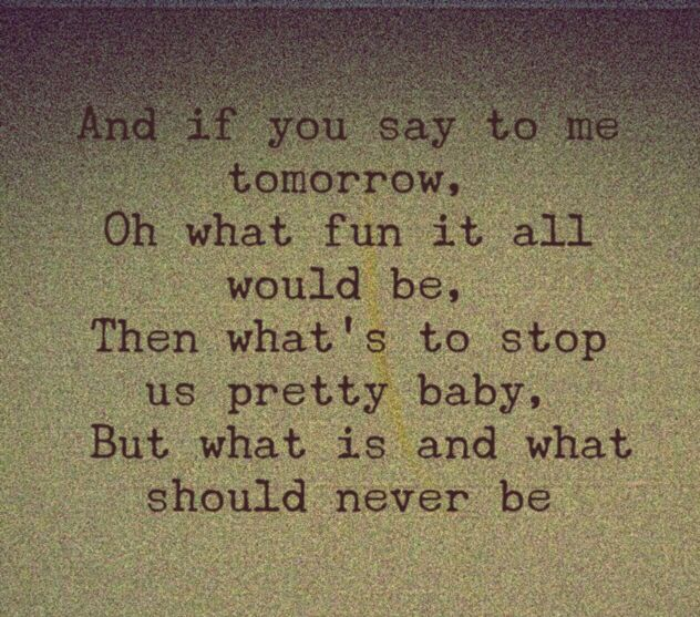 This is how life should be lyrics