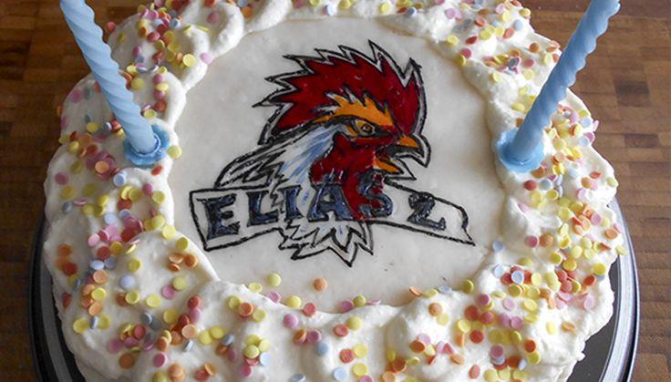 Narozeninový dort tvarohovo-smetanový | Poctivá chuť