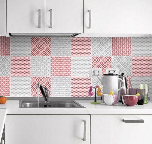 Необычный способ декора, который поможет полностью и легко изменить вашу кухню…