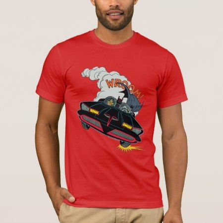 Batmobile Wroom! T-Shirt - tap, personalize, buy right now!