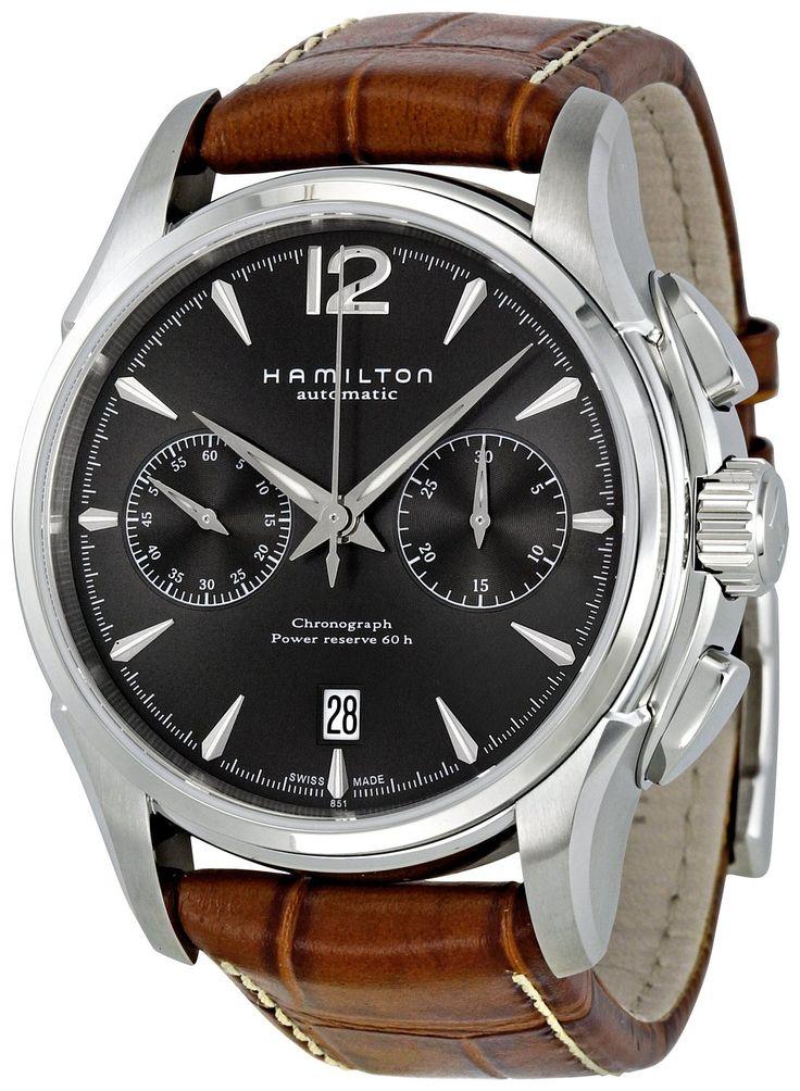 Amazon.com: Hamilton Men's H32606585 American Classic Jazzmaster Automatic Watch: Hamilton: Clothing
