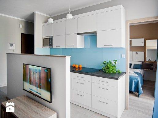 Sprytne pomysły na aranżację 40-metrowego mieszkania w bloku - Homebook.pl
