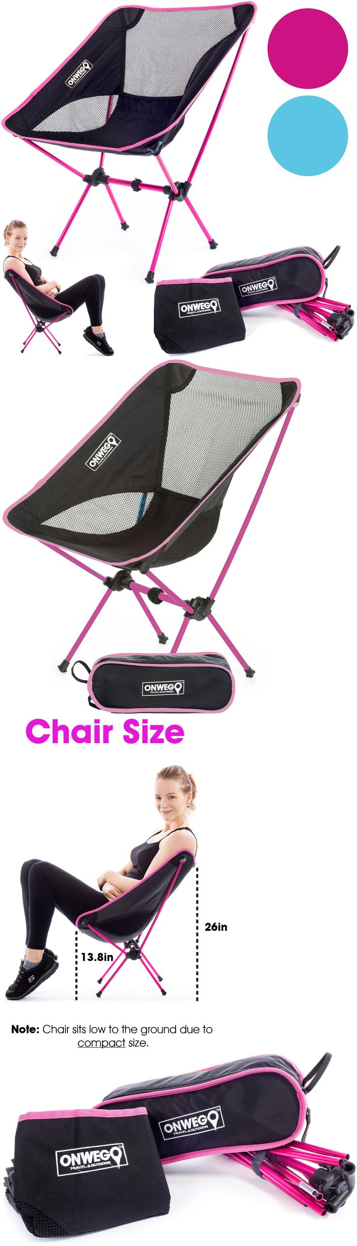Jerry chair backpacking - Chairs And Seats 19985 Pink Camping Backpacking Chair Lightweight Durable Portable