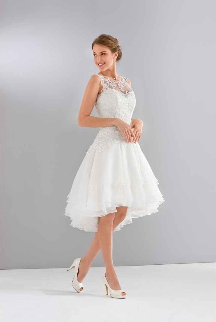 3aa6e8a37 30 encantadores vestidos de noiva curtos | Casamento | Vestido noiva ...