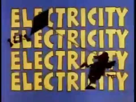 School House Rock Science Electricity Cartoon Lesson