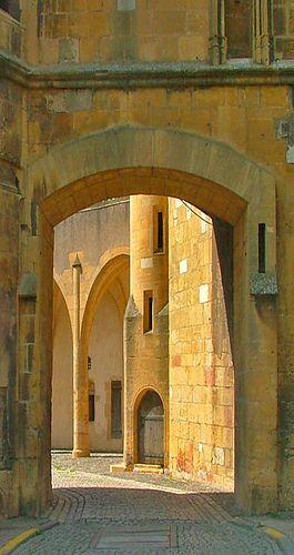 Metz Porte des Allemands//Site historique à Metz, France
