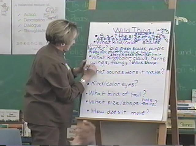"""""""Wild Thing"""" - Elaborative Detail Modeled Lesson Part 2 by Empowering Writers"""