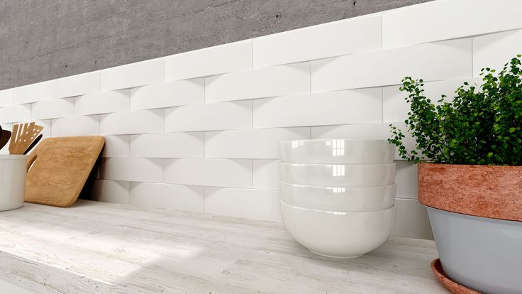 Carrelage intérieur / mural / en céramique / à relief ARCH XL WOW Design EU
