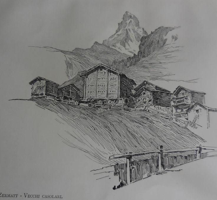 Zermatt - Vecchi casolari