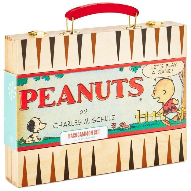 Peanuts® Backgammon Game Set