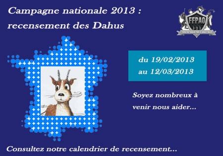 La Chasse au Dahu - Campagne de recensement