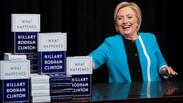 FOX NEWS: Hillary Clinton says 'I have a great chapter about Russia' in my book when asked about Mueller indictments