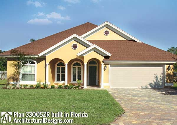 Net zero ready house plan built in florida 3 beds 2 for Netzero home plans