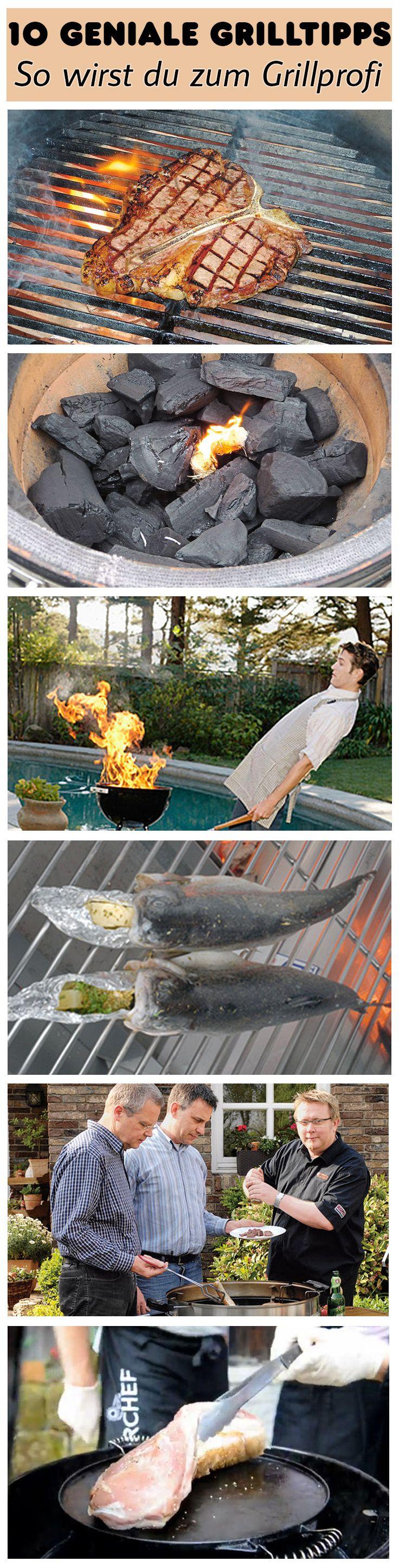 Wie feuert man Kohle richtig an? Und was sollte man beim Grillen von Fleisch und Fisch beachten? Wir geben 10 geniale Tipps zum Grillen, mit denen du zum Grillprofi wirst!