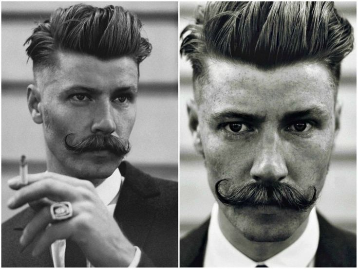 Cool Prohibition Mens Undercut Hairstyle
