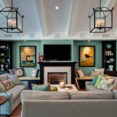 cape cod inspired as seen in redbook living room
