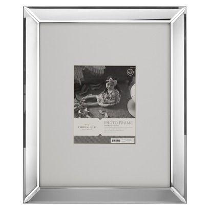 Mirrored Picture Frame -  Target has carried these for the last couple of years and they are one of my favorite things - so simple yet glamourous - be on the lookout for them because they sell out (make certain they aren't broken because they often are.)