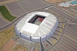 Super Bowl 2015-- University of Phoenix stadium.  This is on our bucket list...  ;-)