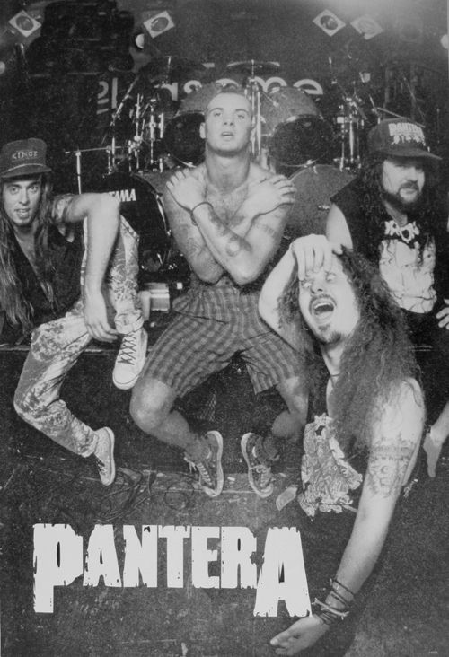 Pantera- formed in 1981, from Arlington, Texas. Thrash metal band.