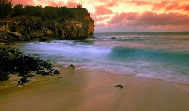 Shipwreck Beach  Kaua'i, Hawai'i